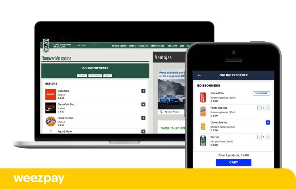 Implanta el sistema de pre-order online en tu evento