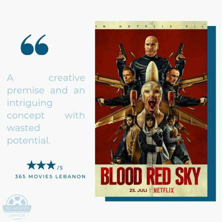 Red blood sky
