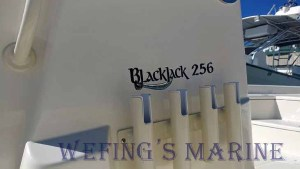 Blackjack 256 available now from Wefing's Marine