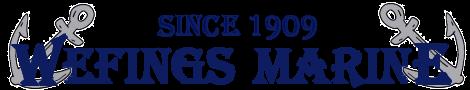 wefing's marine logo