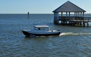 C-Dory 22 Cruiser in Apalachicola Bay