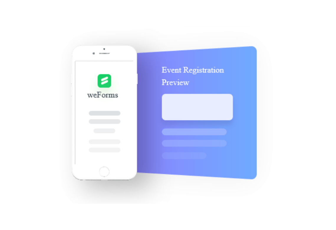 weForms has Mobile Responsive Forms for WordPress