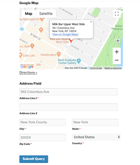 Autofill address with Google Maps on WordPress contact form with weForms