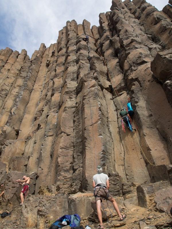 Rock Climbing Vantage Washington