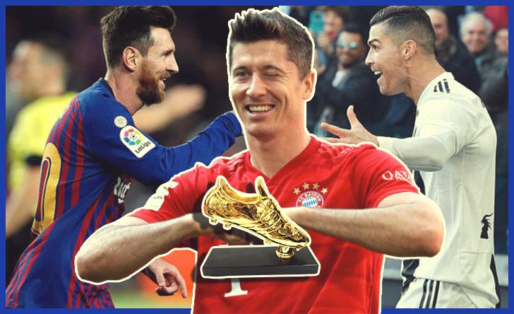 European Golden Shoe 2020-21