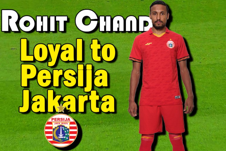 Rohit Chand Loyal to Persija Jakarta and is waiting for Liga 1- 2021 to start