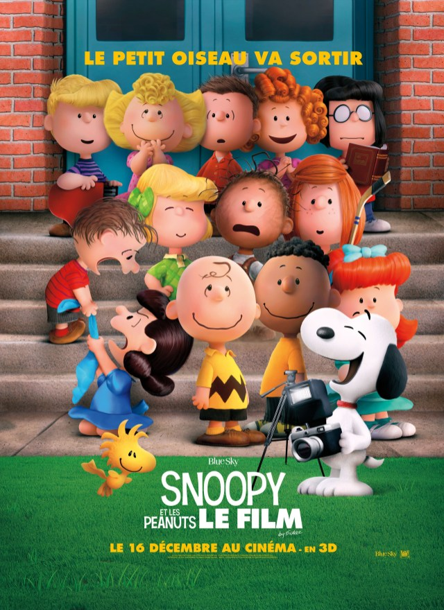 New International Poster For The Peanuts Movie We Geek