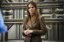 "DC's Legends of Tomorrow -- ""Marooned"" -- Image LGN107B_0096b.jpg -- Pictured: Stephanie Cleough as Eve Baxter -- Photo: Bettina Strauss/The CW -- © 2016 The CW Network, LLC. All Rights Reserved."