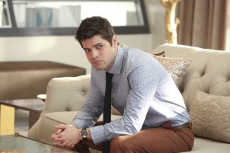 """""""Falling"""" -- Cat appears on THE TALK to discuss Supergirl, on SUPERGIRL, Monday, March 14 (8:00-9:00 PM, ET/PT) on the CBS Television Network. Picturedt: Jeremy Jordan Photo: Michael Yarish/CBS ©2016 CBS Broadcasting, Inc. All Rights Reserved"""