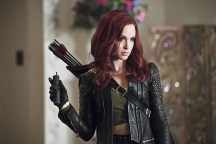 """Arrow -- """"Broken Hearts"""" -- Image AR416a_0201b.jpg -- Pictured: Amy Gumenick as Carrie Cutter/Cupid -- Photo: Katie Yu/The CW -- © 2016 The CW Network, LLC. All Rights Reserved."""