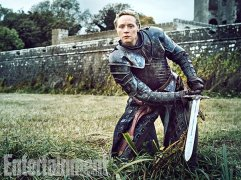 """Gwendoline Christie as Brienne of Tarth """"Brienne is so unique and unconventional and so strong, and I love the writing hasn't allowed her to just rest there,"""" says Christie. (Image Credit: MARC HOM for EW)"""