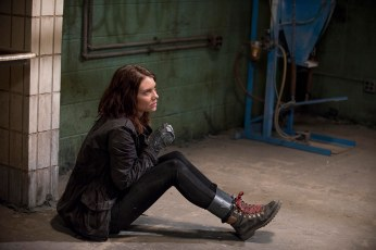 Lauren Cohan as Maggie Greene - The Walking Dead _ Season 6, Episode 13 - Photo Credit: Gene Page/AMC