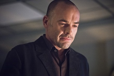 """Arrow -- """"Canary Cry"""" -- Image AR419a_0166b.jpg -- Pictured: Paul Blackthorne as Detective Quentin Lance -- Photo: Dean Buscher/The CW -- © 2016 The CW Network, LLC. All Rights Reserved."""