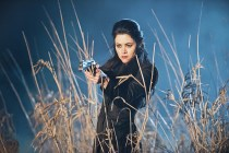 """DC's Legends of Tomorrow -- """"Last Refuge""""-- Image LGN112b_0501b.jpg -- Pictured: Faye Kingslee as The Pilgrim -- Photo: Dean Buscher/The CW -- © 2016 The CW Network, LLC. All Rights Reserved."""