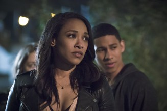 "The Flash -- ""The Race of His Life"" -- Image: FLA223b_0102b.jpg -- Pictured (L-R): Candice Patton as Iris West and Keiynan Lonsdale as Wally West -- Photo: Katie Yu/The CW -- © 2016 The CW Network, LLC. All rights reserved."