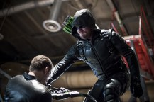 "Arrow -- ""A Matter Of Trust"" -- Image AR503A_0222b.jpg --- Pictured: Stephen Amell as Green Arrow -- Photo: Diyah Pera/The CW -- © 2016 The CW Network, LLC. All Rights Reserved."