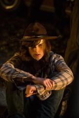 Chandler Riggs as Carl Grimes- The Walking Dead _ Season 7, Episode 1 - Photo Credit: Gene Page/AMC