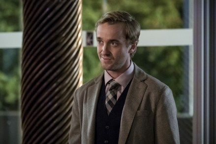 """The Flash -- """"Borrowing Problems from the Future"""" -- Image FLA310b_0271b.jpg -- Pictured: Tom Felton as Julian Albert -- Photo: Katie Yu/The CW -- © 2016 The CW Network, LLC. All rights reserved."""