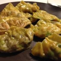 Fyra sorters vegetariska dumplings