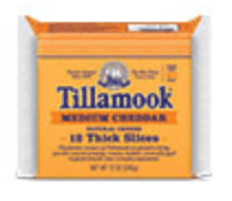 Tillamook slices
