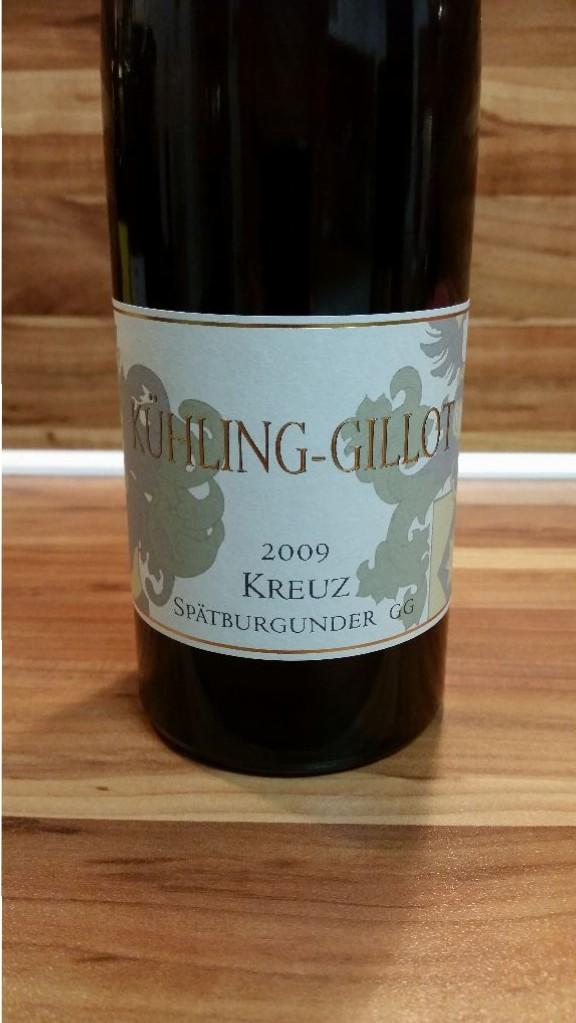 Kühling-Gillot, Pfalz – Oppenheimer Kreuz Spätburgunder GG 2009