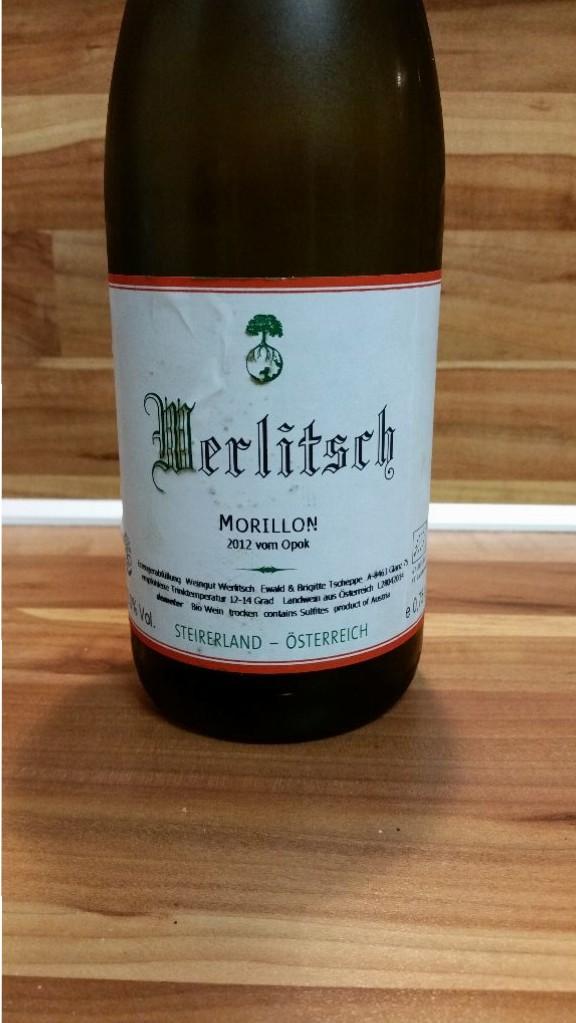 Werlitsch, Südsteiermark, Österreich – Morillon vom Opok Landwein Steirerland trocken 2012