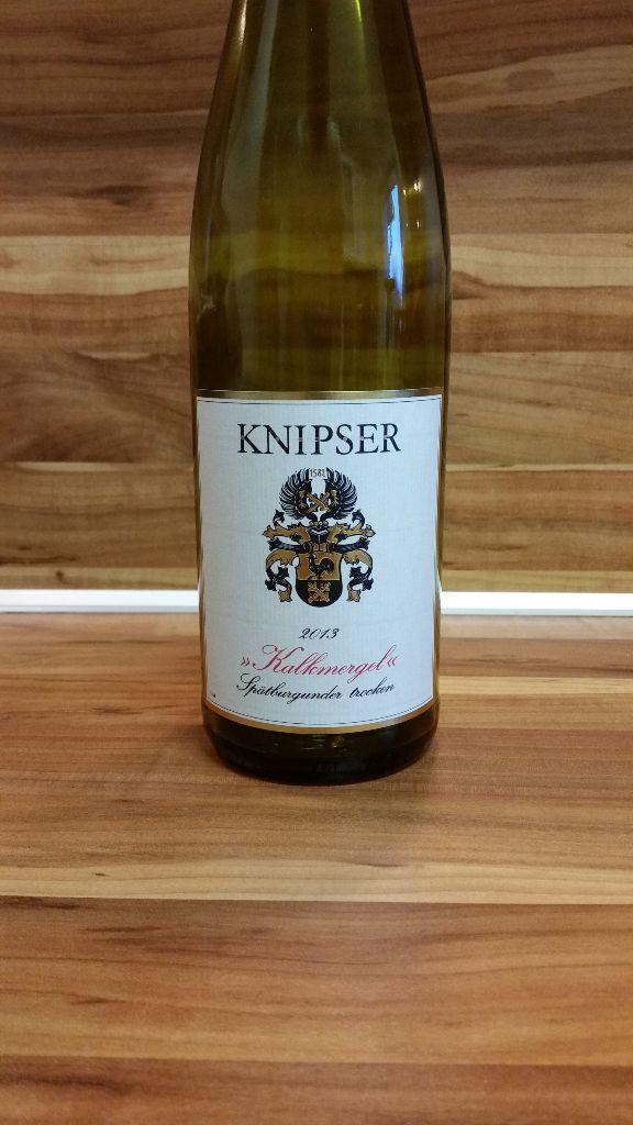 """Knipser, Pfalz – Spätburgunder """"Kalkmergel"""" trocken 2013"""