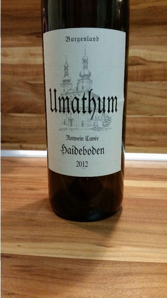 Umathum, Neusiedlersee, Österreich – Haideboden Cuveé trocken 2012