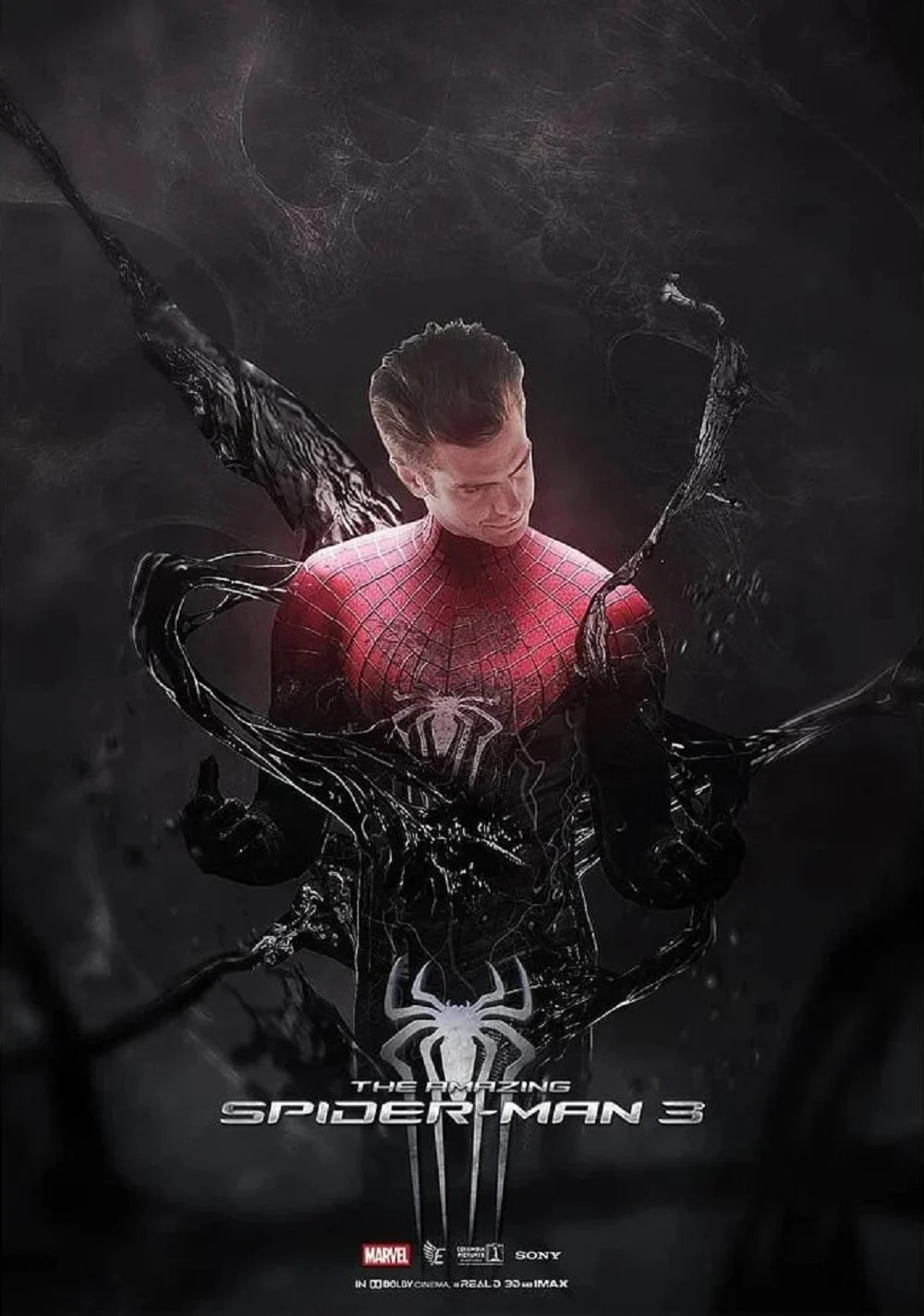 Spider Man 3 Streaming : spider, streaming, Venom, Takes, Awesome, Amazing, Spider-Man, Poster