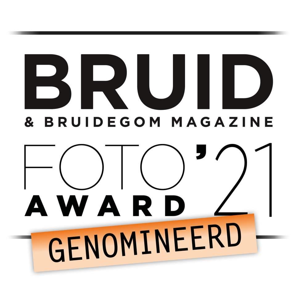 Marli Eggelaar is genomineerd voor de bruidsfoto Award 2021