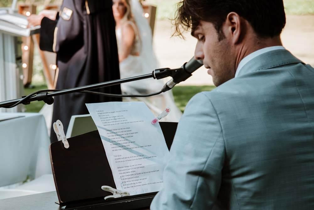 life muziek op je huwelijk