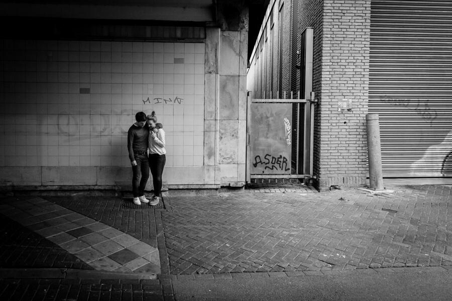 Een loveshoot in Eindhoven