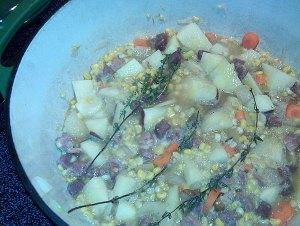 We Grow Recipe - Farmhouse Ham Soup