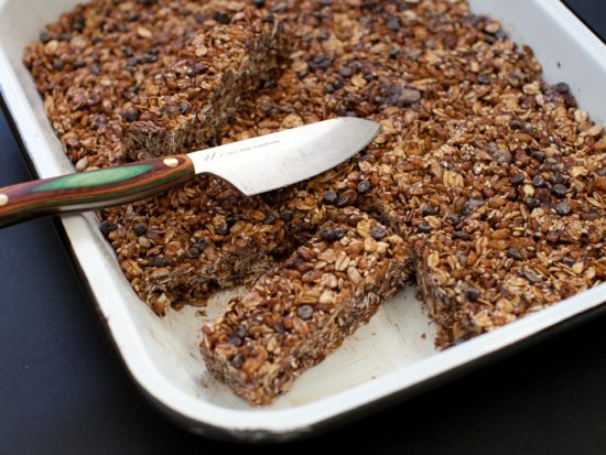 Chocolate-Oat Cereal Bars