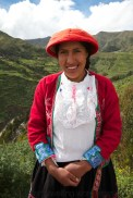 One of wonderful textile ladies of Colca