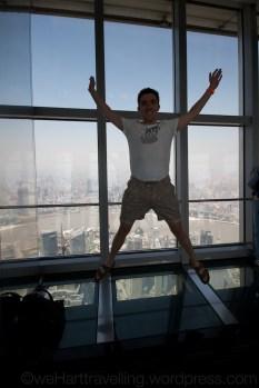Shanghai World Finance Centre #flashjump