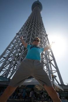 Tokyo Sky Tree (base) #flashjump