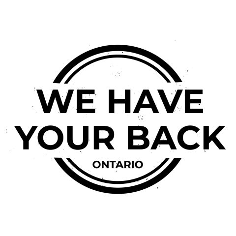 We Have Your Back Ontario