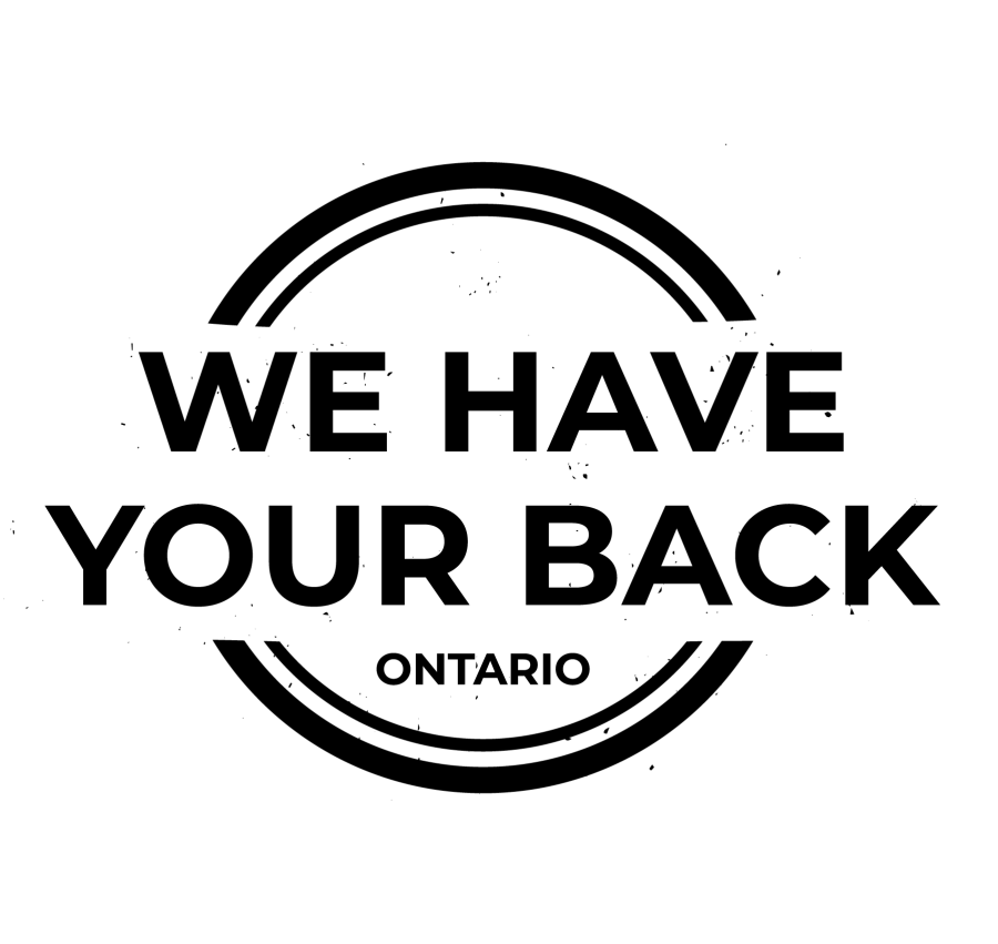 we have your back ontario logo
