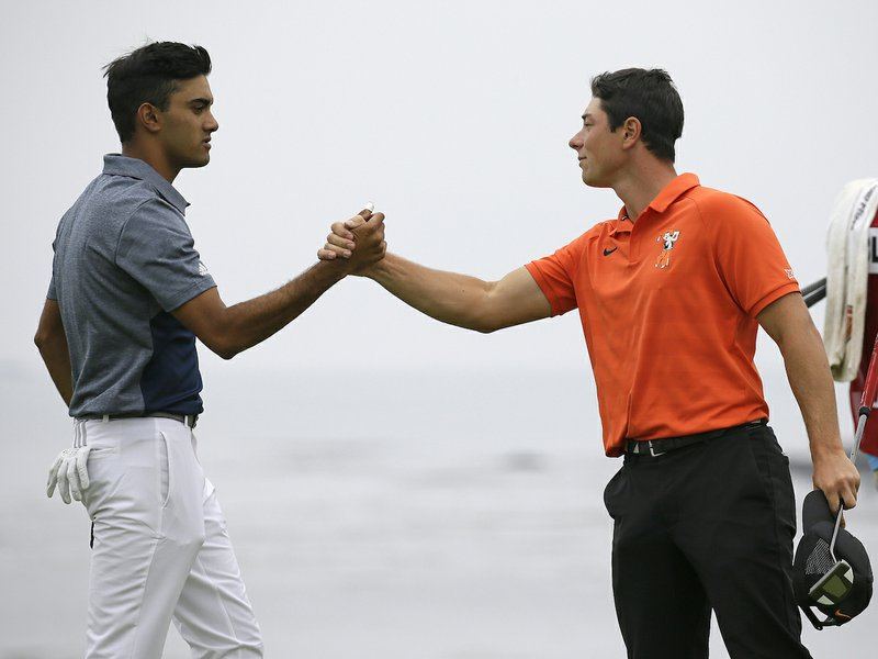 Viktor Hovland Becomes 1st Norwegian To Win Us Amateur