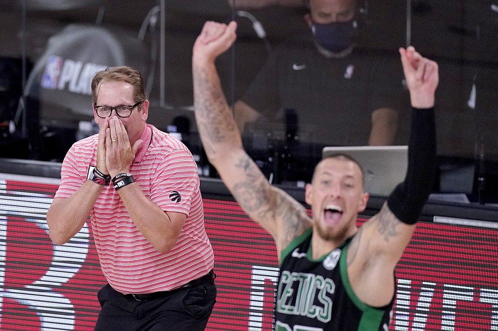 Tatum Celtics Put Away Champion Raptors