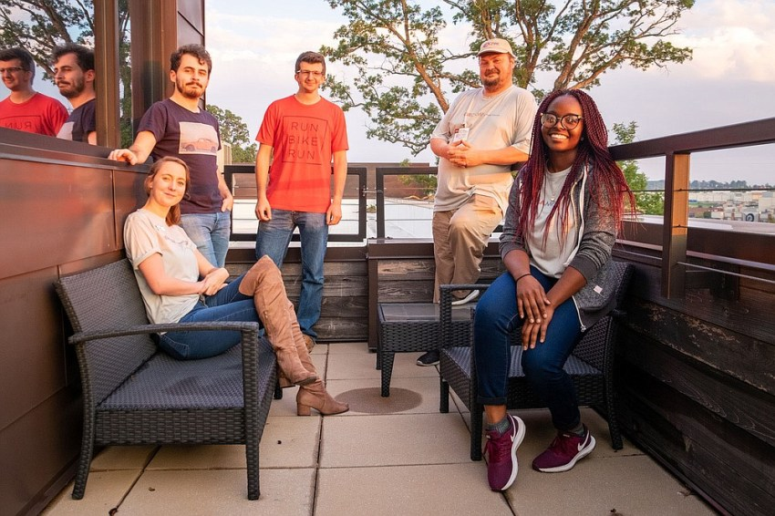 """At the end of 2020, GiveCamp NWA started offering what they call """"mini GiveCamps"""" that involve only one nonprofit and volunteer team instead of a large group of eight to 12 teams. GiveCamp organizers have tried to have a mini GiveCamp quarterly in 2021. (Courtesy photo)"""