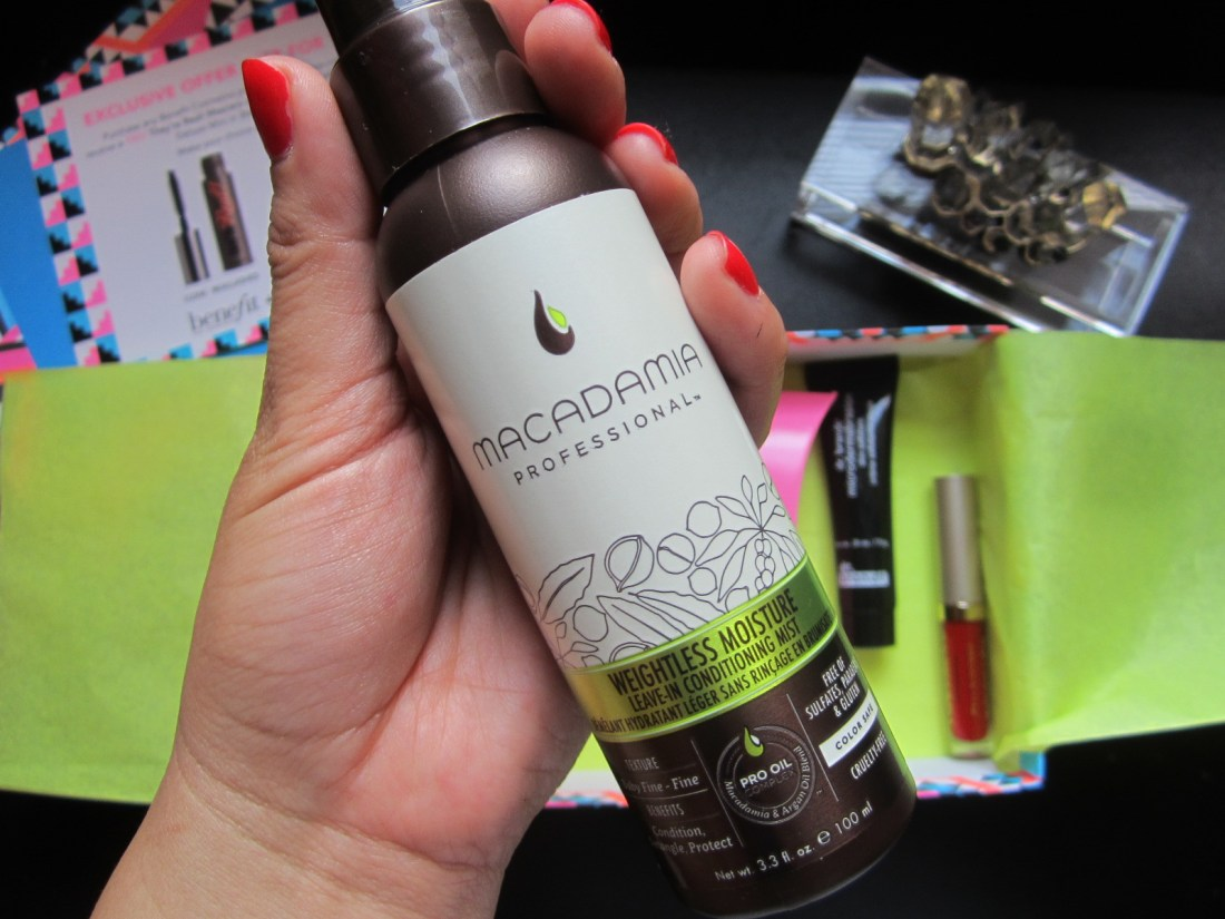 Macadamia Professional Weightless Moisture Conditioning Mist July Birchbox weheartbeauty we heart beauty