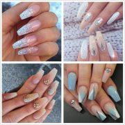 gel nails acrylic
