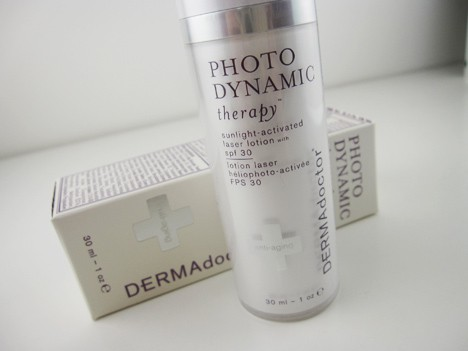 DermaDoctor DERMAdoctor Photodynamic therapy lotion review