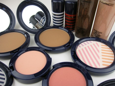 MACheysailorA MAC Hey, Sailor! Cheeks, Nails & Body   review, photos & swatches
