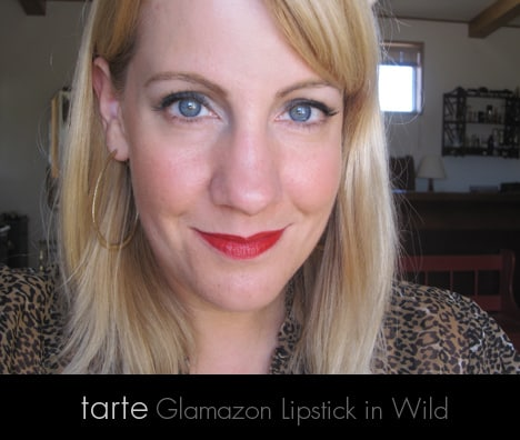 Crimson redF Pure Crimson Velvets: Pure Red: Stila Liquid Lipstick in Beso, tarte Glamazon Lipstick in Wild   review, photos & swatches