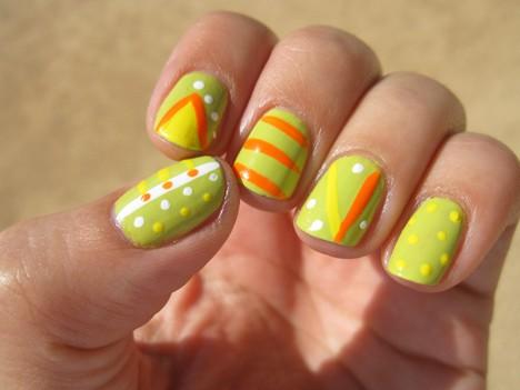 ItsSoEasy nails4 Nail Art 101, Its So Easy!