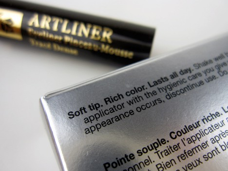 Lancome0812F Lancôme Hypnôse Star Mascara and ARTLINER Precision Point Eyeliner review, photos & swatches