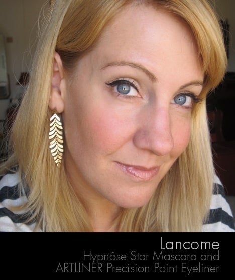 Lancome0812J Lancôme Hypnôse Star Mascara and ARTLINER Precision Point Eyeliner review, photos & swatches